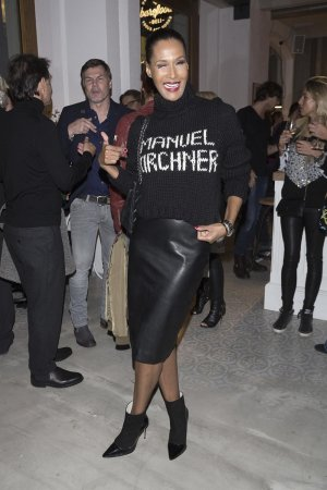 Marie Amiere attends Til Schweiger Opens his new Bar