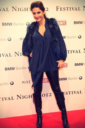 Mariella Ahrens at BMW und BUNTE Festival Night 2012 Humboldt Carre in Berlin