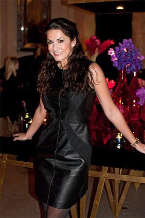 Mariella Ahrens at Mercedes Benz Fashion Week