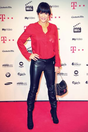 Mariella Ahrens attends 99Fire Films Award Berlinale