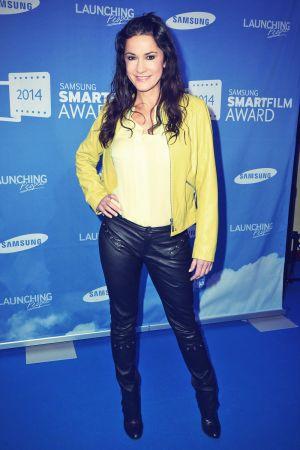 Mariella Ahrens attends Samsung Smartfilm Award Berlinale