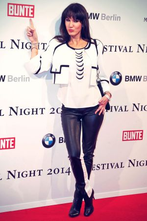 Mariella Ahrens attends the Bunte & BMW Festival Night