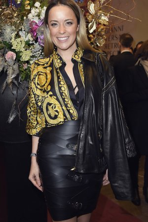 Marina Hoermanseder during the Gianni Versace Retrospective opening