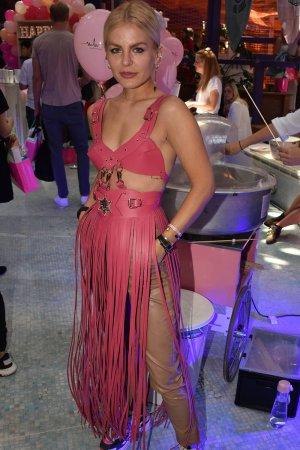 Marina Ilic attends Marina Hoermanseder's Fashion Show