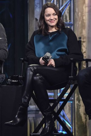 Marion Cotillard attends AOL Build to discuss the movie 'Assassin's Creed'