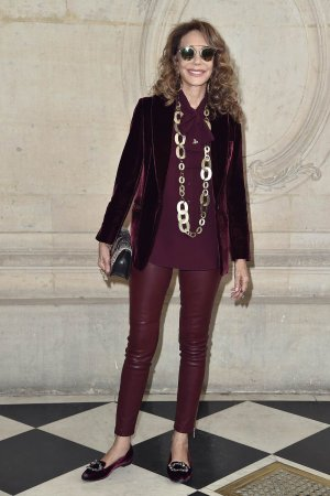 Marisa Berenson attends the Christian Dior show
