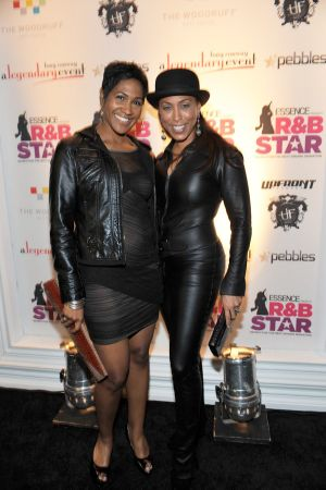 Marjorie Harvey at The Next R&B Star party