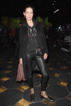 Marpessa Hennink attends the Dolce & Gabbana show