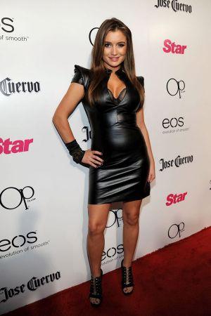 Marta Krupa leather dress