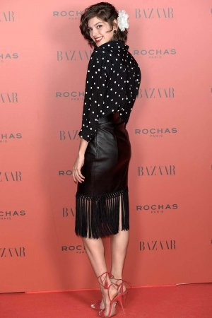 Marta Ortiz attends Harper's Bazaar Flamenco Christmas Party