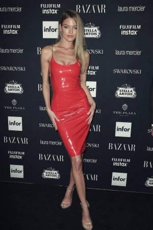 Martha Hunt attends Harper's Bazaar ICONS party