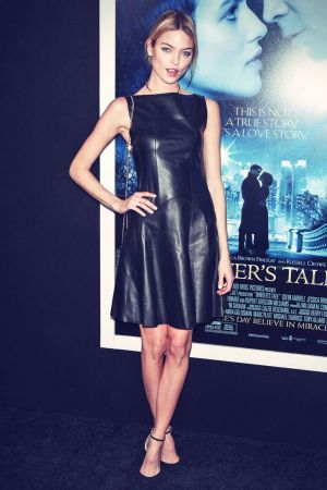 Martha Hunt attends World premiere of Winter's Tale