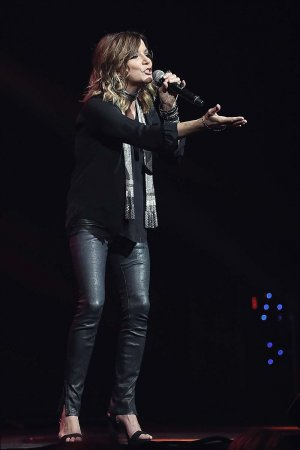 Martina McBride performs at Band Against Cancer