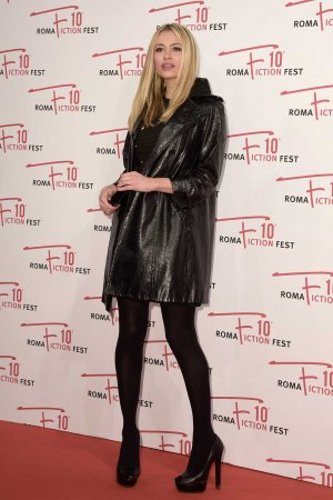 Martina Stella attends Madoff film premiere