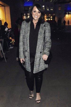 Martine McCutcheon attends The One Show Studios