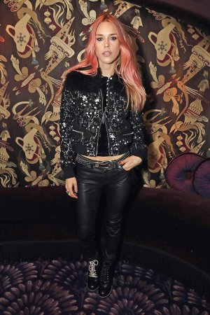 Mary Charteris attends the Moncler Freeze For Frieze Dinner Party
