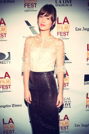 Mary Elizabeth Winstead at the 2013 Los Angeles Film Festival awards
