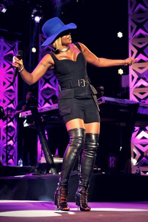 Mary J Blige performs at TIDAL X: MIA NYC