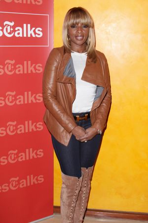 Mary J. Blige at TimesTalks Show in NY