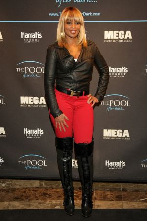 Mary J. Blige during her Album Release Party in Atlantic City
