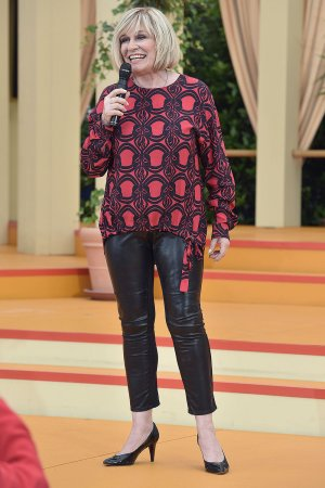 Mary Roos attends Immer wieder Sonntags