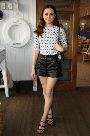 Maude Apatow attends Chanel Dinner to Celebrate J12 Yacht Club