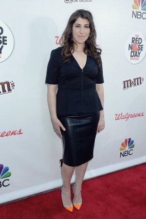 Mayim Bialik attends NBC Red Nose Day Special