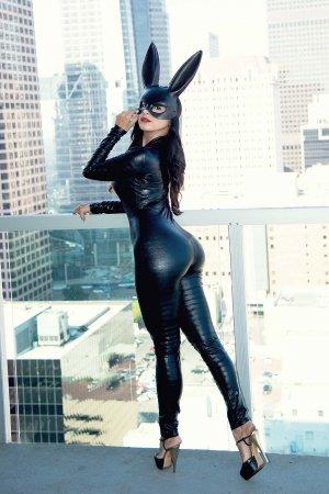 Mayra Veronica dressed for Halloween