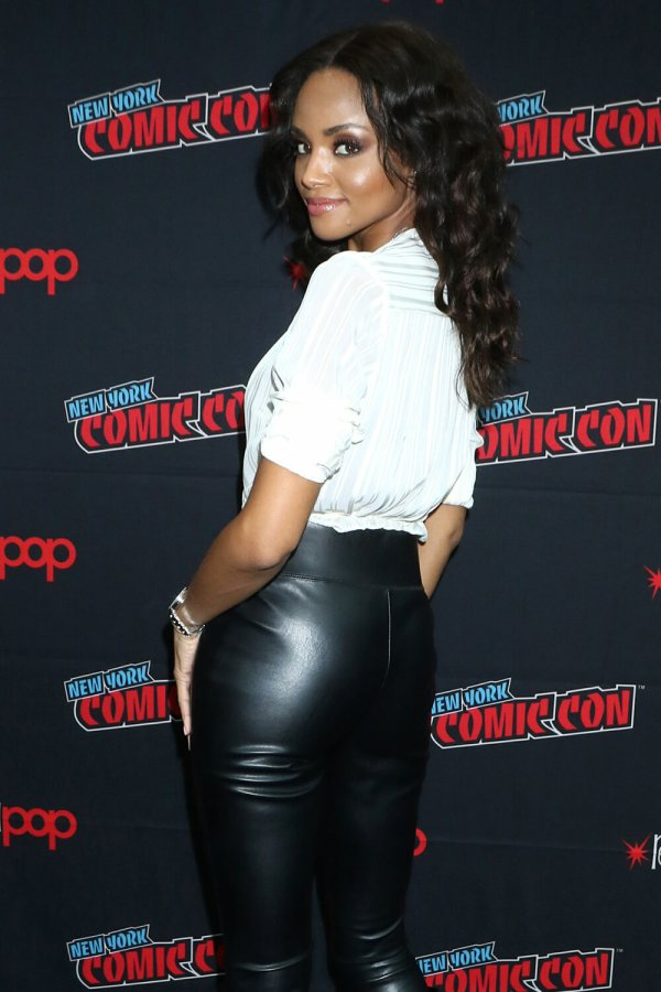 Meagan Tandy arriving for Batwoman TV Show Panel