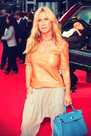 Meg Mathews at The Sweeney UK film premiere
