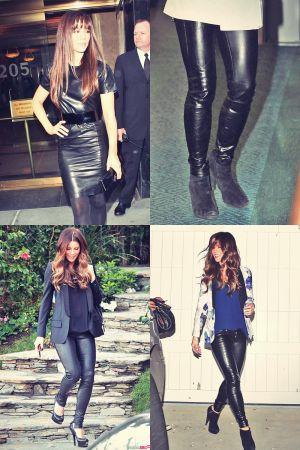 Mega post: Kate Beckinsale leather mix