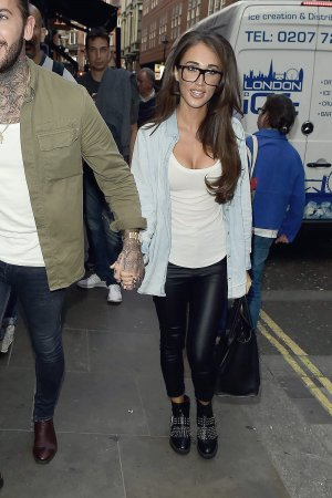 Megan McKenna at the Piccadilly Theatre