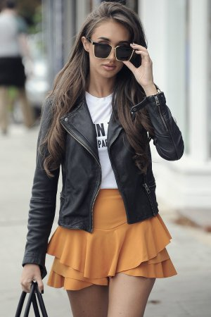 Megan McKenna seen in Essex