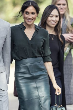 Meghan Markle at First official visit to Sussex