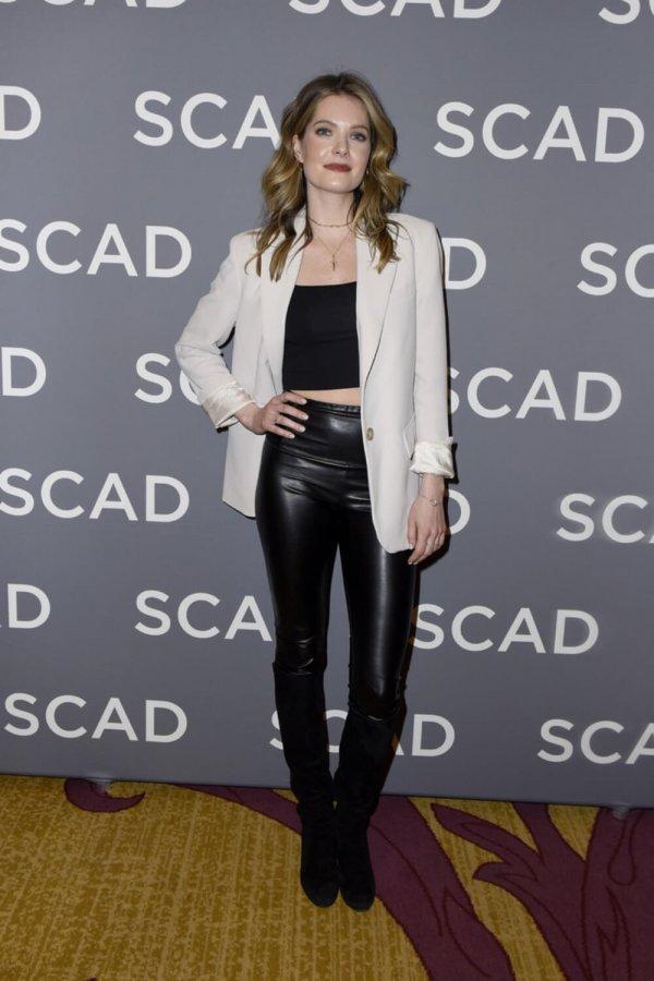 Meghann Fahy attends SCAD aTVfest 2020