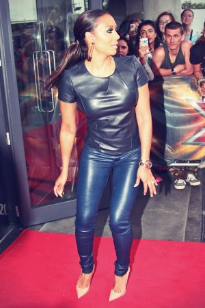 Mel B at X Factor auditions in London