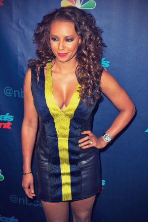 Mel B attends the America's Got Talent Post Show Red Carpet