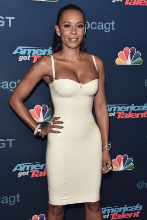 Melanie Brown arrives at the America's Got Talent' Season 11 Live Show