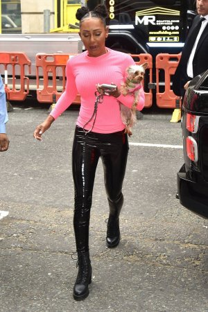 Melanie Brown seen at BBC Radio 2