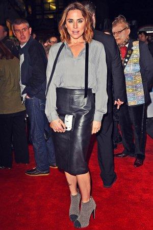 Melanie Chisholm attends Elf The Musical gala night