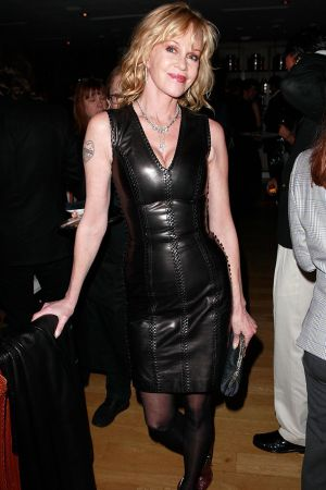 Melanie Griffith at NY Rescue Workers
