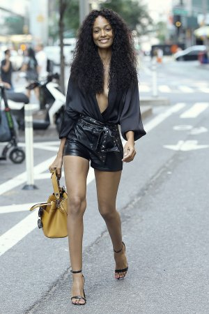 Melie Tiacoh attends callbacks for the Victoria's Secret Fashion Show