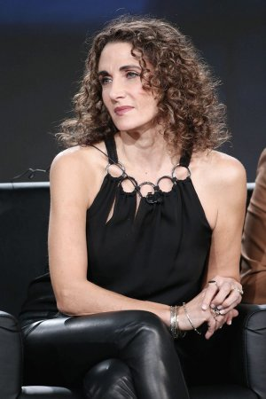 Melina Kanakaredes attends FOX The Resident TV show panel