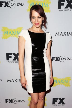 Melinda Clarke at Fox party