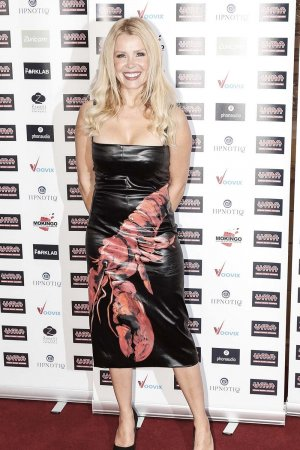Melinda Messenger attends Urban Music Awards