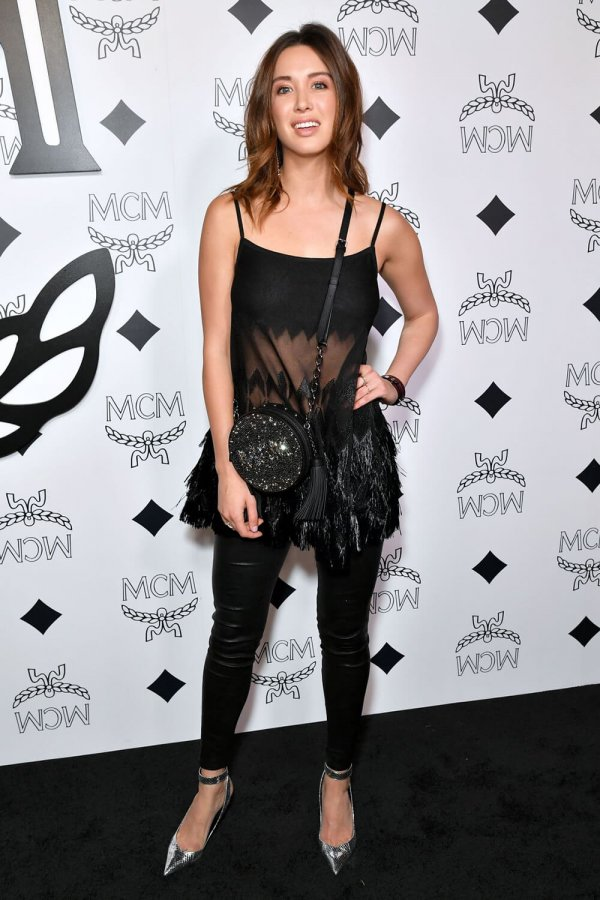 Melissa Bolona attends MCM Global Flagship Store Opening