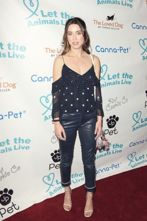 Melissa Bolona attends the 'Let The Animals Live' gala