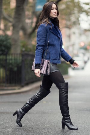Melissa Bolono street style in the streets of Manhattan
