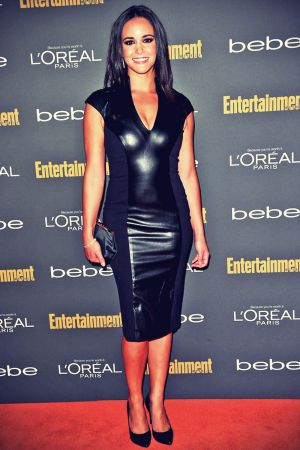 Melissa Fumero arrives at Entertainment Weeklys Pre-Emmy Party