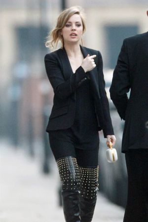 Melissa George out and about